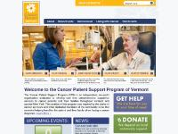 Welcome to the Cancer Patient Support Program of Vermont