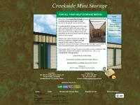 Creekside Mini Storage - Home
