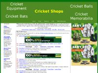 Cricket Shops sell Cricket Equipment