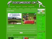 cricketgamescricket.com cricket games, free cricket games, online cricket games