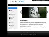 cristalletras.com.br cristal letras - comunicação visual, placas, letras