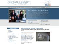 crockett-crockett.com orange county intellectual property lawyer, orange county intellectual property attorney
