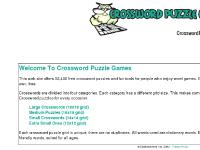 Crossword Puzzle Games - Play Or Create Your Own Puzzles