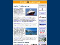 Port Canaveral Cruise Guide - cruises from Port Canaveral Florida