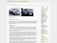 CRV Honda | Honda CR-V SUV on Best Prices