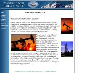 Crystal River Oil & Gas -- Main Page