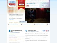 csedweek.org pledge, Watch, Newsroom