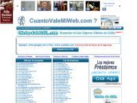 Cuanto Vale Mi Web ? www.CuantoValeMiWeb.com - Calcular el Valor de tu Web