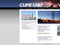 Cupe 1287 - Providing Member Services Since 1970