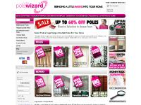 Curtain Poles | Range of Cheap Curtain Poles from Curtain Pole Wizard