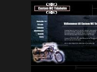 Custom MC Tidaholm | Startsida, custom, mc, tidaholm, säljer ...