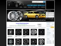 We Carry Custom Wheels, Chrome Wheels, Black Wheels, Offroad Wheels and rims