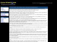 CyberAtlantis.com - Privacy / Freedom News
