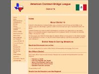 ACBL District 16 Home Page