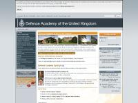 da.mod.uk Homepage, Accessibility, Cookies (OFF)