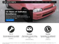 daiauto, daihatsu cars, wreckers, parts