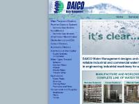 DAICO industrial water treatment systems - RO, EDI, Ozonation, Carbon Filtration