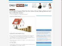 Can Property Compete With The New Online Money Making Methods | Daily News 24