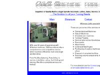 dandmmachinetools.co.uk wickman multispindle lathes, Auto machines, lathe service and repairs