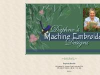 Daphne's Machine Embroidery Designs | Welcome