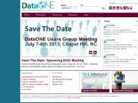 dataone.org DataONE Organization, Participate, DataONE User's Group