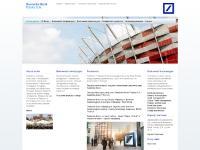 db-polska.pl Mapa serwisu, Formularze i dokumenty, Deutsche Bank Group