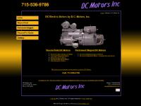 Direct Current Electric Motors, DC Electric Motors, Direct Current Motors - DC Motors, Inc.