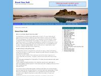 Dead Sea Salt | Information & Benefits of Dead Sea Salt