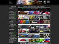 DECALFX.com! Custom Vinyl Graphics, Decals, Stickers, Logos, Lettering, Carbon Fiber Vinyl, Cars, Trucks, Motorcycles