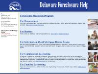 Delaware Foreclosure Help