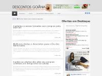Descontos Goiânia - Agregador de ofertas de sites de compras coletivas da capital goiana
