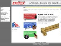 Detex Corporation - Life Safety & Security Door Hardware