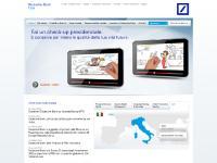 deutsche-bank.it banca d'investimento,soluzioni finanziarie,conti correnti