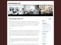 dewandesign.com Interior Design, Home Interior Design, Home Design