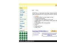 Web Design Software DFM2HTML Version 6.1
