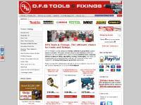 dfsfixings.com fixings fasteners powertools leicester nails adhesives makita spax blaklader screws nuts bolt door handles drill bits cutters handtools