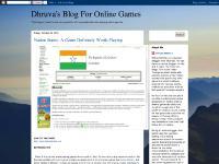 Dhruva's Blog For Online Games