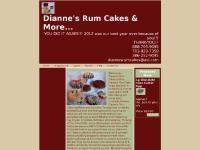 diannesrumcakes.com rum cake, rumcakes, rum cakes