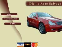 dicksautosalvage.com used auto parts, auto parts, used car parts