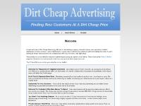 Dirt Cheap Advertising | Finding New Customers At A Dirt Cheap Price