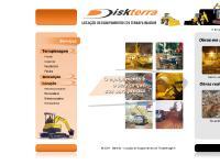 Diskterra - Locação de equipamentos de terraplenagem