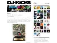 DJ-Kicks website, home of the legendary DJ mix series