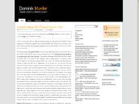 Dominik Mueller's Blog | Finance, Investing, Economics