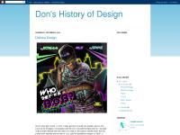 Don's History of Design