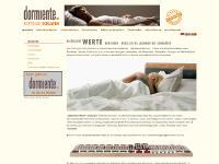 dormiente.com matratzen, naturmatratzen, latexmatratzen