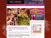 Mexican Restaurants New York, Fort Lauderdale & Atlantic City   Dos Caminos