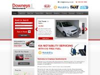 New and used cars Northern Ireland - Downeys Newtownards, new car dealership for Honda and Fiat, used car sales