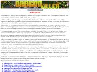 dragonkiller.com Story, -- All rights reserved --, Galaxy Website Design