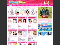 dressupgirl.com dress up games, fashion games, make up games