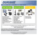 Dukane audio visual equipment, ultrasonic plastic welding and underwater location devices